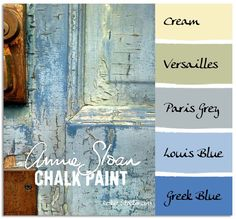 Paint in my hair: Chalk Paint Color Recipes - Picmia