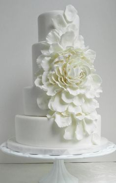 Featured Cake: The Cake Whisperer; Wedding cake idea.