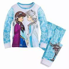 conjunto de pijama de niña marca disney de pelicula frozen
