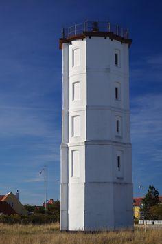 #Lighthouse in Skagen, #Denmark Built in 1747