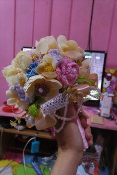 Pastel Crochet Bouquet
