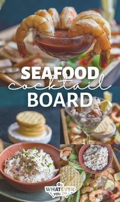Our Holiday Crab and Shrimp Cocktail Board is a great appetizer to serve to your family. It has a little something for everyone and can be customized endlessly to suit your needs.