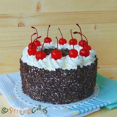Tort Padurea Neagra de post – cu frisca, ciocolata si cirese Low Carb, Cake, Sweet, Desserts, Nicu, Food, Fine Dining, Food And Drinks, Pie Cake