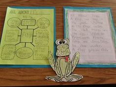 All About Frogs - Creating Informational Stories