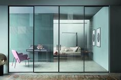 [New] The 10 All-Time Best Home Decor (Right Now) - Ideas by Lillie Dixon - Lualdi Internal Sliding Doors. Aluminium Sliding Doors, Internal Sliding Doors, Sliding Door Systems, Sliding Door Design, Sliding Glass Door, Glass Doors, Italian Doors, Interior Architecture, Interior Design