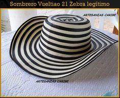 Sombrero fino 21 Vueltas Zebra. Compra tu sombrero vueltiao y lucelo con  orgullo. Realizamos 8edeef59913