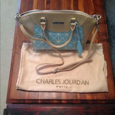 MUST GO Please make an offer!  Super cute Charles Jourdan purse from Nordstrom. It has never been used! Charles Jourdan Bags
