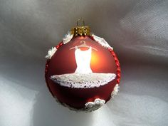 Snow Tutu ornament!