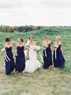 a-wedding-scrapbook: When He Found Her Reid Lambshead Wedding Wedding Gallery, Wedding Pics, Wedding Day, Wedding Dresses, Wedding Wishes, Vestidos Color Azul, Navy Blue Bridesmaid Dresses, Wedding Scrapbook, Wedding Story