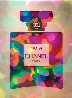 Vintage Art Deco Print Painting For Glass Frame Pop Art, Chanel Wallpapers, Parfum Chanel, Chanel Decor, Art Deco Print, Chanel No 5, Coco Chanel, Marken Logo, Fashion Wallpaper
