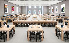 5 самых красивых Apple Store в Европе / Стиль / Журнал / 420on.cz Пражский городской портал