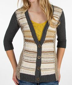 BKE Reverse Seam Cardigan Sweater! Layered with the BKE Burnout Top  amp   Daytrip Low. Cardigan Sweaters For WomenSweater ... 0490d12ed