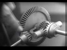 Chevrolet Motor Division Presents: Around The Corner (1930s Film) /// An excellent tutorial from the 1930's on the principles and development of the Differential Gear.