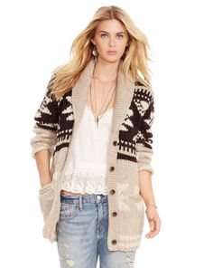 Wool-Blend Shawl Cardigan - Denim & Supply  Cardigans & Sweater Coats - RalphLauren.com