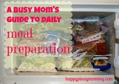 A Busy Mom's Guide to Daily Meal Preparation - Happy Pinay Mommy Weekly Menu Planning, Meal Planning, Easy Filipino Recipes, Meal Preparation, Daily Meals, Meals For The Week, Quick Easy Meals, Snack Recipes, Diet