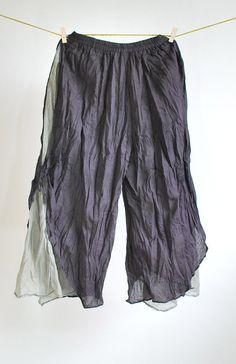 Coconutwoww Women's Patchwork Tie Waist Pocket-Side Wide Leg ...