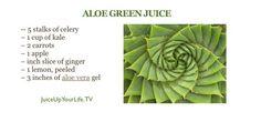 aloe vera green juice