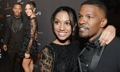 Jamie Foxx hits the Golden Globes parties with daughter Corinne
