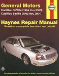 Haynes Repair Manual 38032 Cadillac DeVille 94-05 Seville 92-04