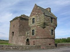 Burleigh Castle from the South West,Scotland