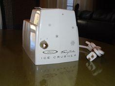 Vintage Oster Sno Flake Ice Crusher by Montyhallsshowcase on Etsy