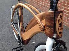 Resultado de imagem para wood bike frame