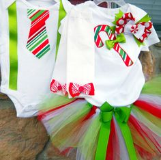 Brother Sister Matching Christmas Outfit by LilBeanBabyBoutique, $69.99