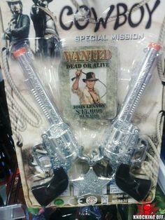 Cowboy: Special Mission.  Wanted: Dead or Alive.  John Lennon.  $15,000 reward.