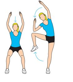 If you're sick of sit-ups, try toning your abs standing up. Click the image to find out how to do this move! #WWLoves