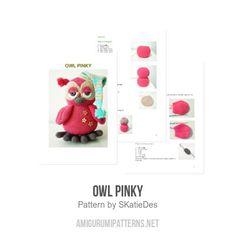 Owl Pinky amigurumi pattern by SKatieDes