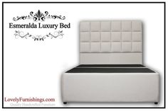 ESMERALDA LUXURY BED  King Platform Storage by LovelyFurnishings, $1995.00