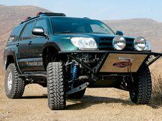 Total Chaos 4Runner Toyota 4x4, Toyota 4runner, 4th Gen 4runner, Overland Truck, Cargo Trailers, Rugged Style, 4x4 Trucks, Land Cruiser, Sport