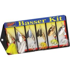 Mepps Basser Kit - Variety Dressed Lure Assortment