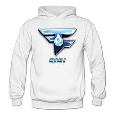 QK Faze Rain Logo Womens Fashion Pullover Hood White M -- Check this awesome product by going to the link at the image.  This link participates in Amazon Service LLC Associates Program, a program designed to let participant earn advertising fees by advertising and linking to Amazon.com.