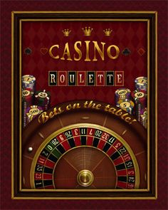 Roulette by Daphne Brissonnet art print Casino Theme Parties, Casino Party, Casino Games, Pictures To Paint, Print Pictures, Printable Playing Cards, Casino Royale Movie, Roulette Table, Sphinx