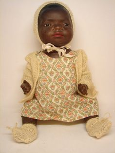 African American Baby Doll Vintage