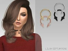 Download:https://www.thesimsresource.com/downloads/details/category/sims4-accessories-female-earrings/title/grafitysims--lilah-septum-ring/id/1368475/