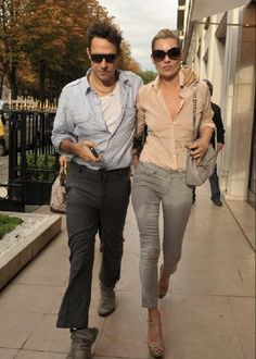 The cool couple.