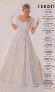 85 Inspiring 1990 Wedding Gowns Images Dress Wedding Bridal Gowns