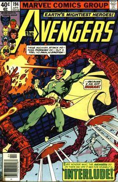 Avengers # 194 by George Pérez & Joe Rubinstein