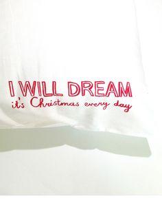 Dreams & Wishes Christmas Pillowcase set