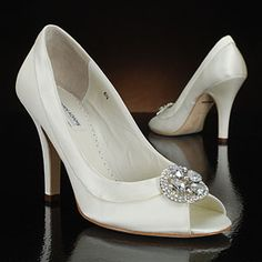 benjamin adams bisset white & ivory  Wedding Shoes