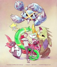Anderson Pereira and his Pokémon team. Order for the trainer The waiting list for 2017 - rickslira Pokemon Oc, Pokemon Memes, Pokemon Fan Art, Pokemon Fusion, Cute Pokemon, Pokemon Cards, Cool Anime Pictures, Pokemon Pictures, Mew And Mewtwo