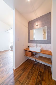 Marine Lighting, Small House Exteriors, Washroom, Bathroom Interior, Mirror, Furniture, Flat, Design, Home Decor