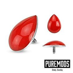 Have you checked out our Blood Drop Dermal Tops yet? Perfect for your dermal piercing next to your eye:)