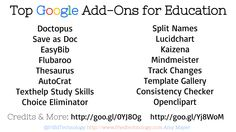 friEdTechnology: Top Google Add-Ons for Educators