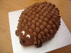 The World's Top 10 Best Ever Hedgehog Cakes... Who knew this could even be a Top-10 category??