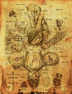 Black Magic Symbols | Thread: Symbols for the Schools of Magic