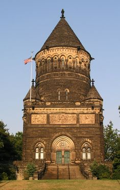 Grave Marker- Ohio tomb of James A. Garfield - 20th President of the United States. http://thefuneralsource.org/trad0901.html