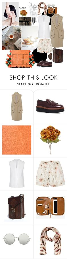 WOMEN by mariettamyan on Polyvore featuring мода, Hobbs, Nellie Partow, Haute Hippie, Tod's, Olivia Pratt and Linda Farrow
